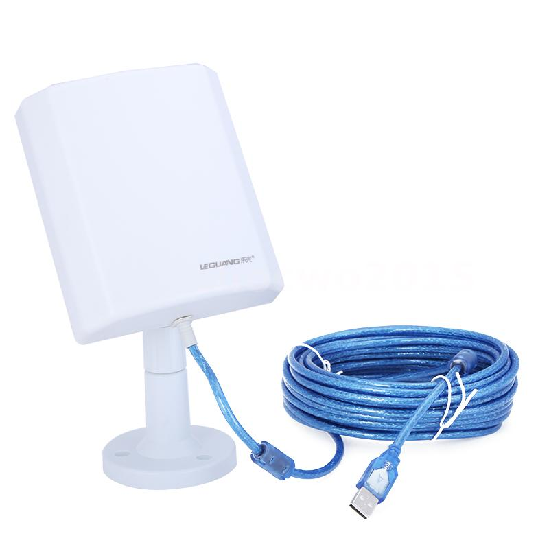 Usb 150mbps Wifi Wireless Adapter 10m Cable Long Range Outdoor With Antenna Hot