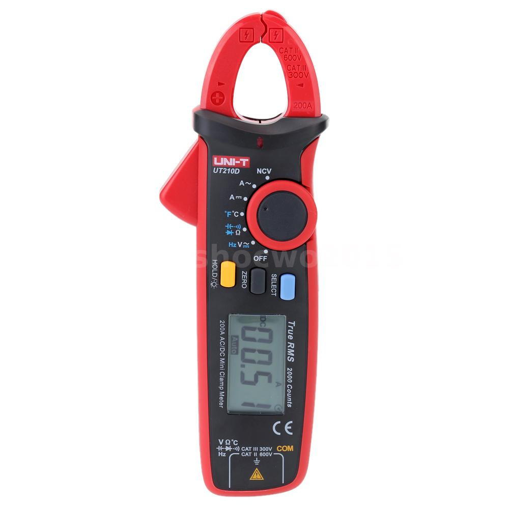 Voltage Clamp Meter : Uni t ut d digital clamp meter voltmeter current voltage