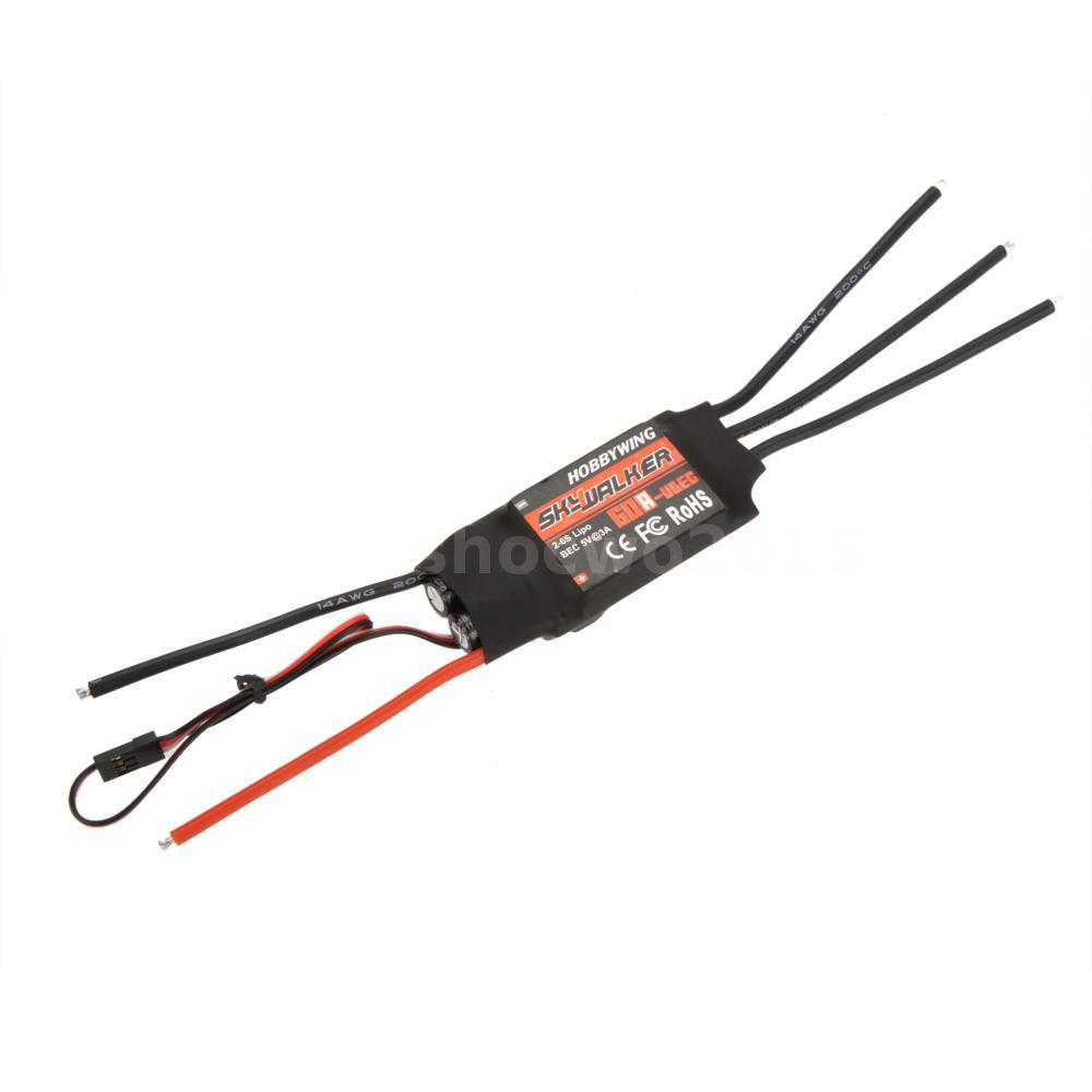 Hobbywing SkyWalker 60A Brushless ESC Speed Controller ...