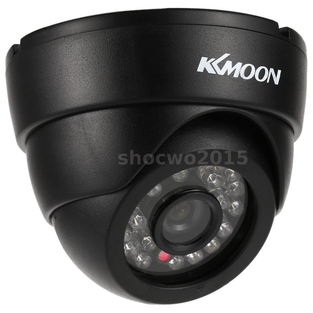 KKMOON HD 1200TVL Security CCTV Camera 24 IR LED Night Vision 3.6mm Lens US Q2X9